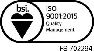 BSI ISO 9001:2015
